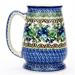"Pattern designed by Zofia Spychalska. The artist has been connected with the Artistic Handicraft Cooperative ""Artistic Ceramics and Pottery"" since 1989. Since 1997 she has been a pattern designer. Unikat pattern number U2957."