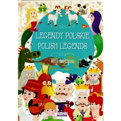 We look far and wide for original Polish legends in English and Polish. We just found this collection of 10 of great Polish legends. The legends include: