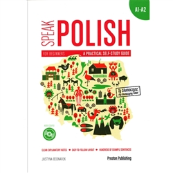 Speak Polish. A Practical Self-study Guide is a new manual for students of Polish as a foreign language. Containing lists of sentences sorted according to grammar points, the course starts with the most basic concepts and takes the student on a journey t