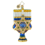 Hanukkah flames continue to light the way within this celebrated season of the Jewish faith. The Star of David is an inspirational base.