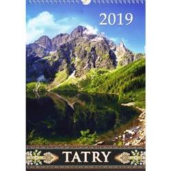 This beautiful large format spiral bound wall calendar features 15 scenes from around the Tatry Podhale.