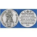 Our Lady Untier of Knots Pocket Token (Coin) Great for your pocket or coin purse.