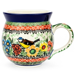 "Pattern Designed By Teresa Liana. The artist has been connected with the Artistic Handicraft Cooperative ""Artistic Ceramics and Pottery"" since 1983. Since 1992 she has been a pattern designer. Unikat pattern number U3358."