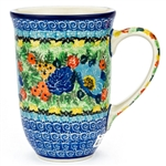 "Pattern Designed By Teresa Liana. The artist has been connected with the Artistic Handicraft Cooperative ""Artistic Ceramics and Pottery"" since 1983. Since 1992 she has been a pattern designer. Unikat pattern number U4683."