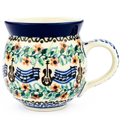 Beautiful music pattern designed by Malgorzata Mierzwa. Unikat pattern U1879.