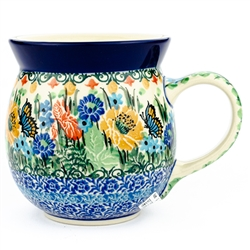 "Designed and signed by Teresa Liana. The artist has been connected with the Artistic Handicraft Cooperative ""Artistic Ceramics and Pottery"" since 1983. Since 1992 she has been a pattern designer. Signature Series Pattern: U3727."