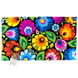 Nice souvenir from Poland. Hanging loop on the back. 