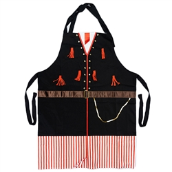 Delightful cooking apron with a man's Krakow costume design, This apron makes a perfect gift for anyone looking for a kitchen accessory or gift. It's also a great low cost alternative when you need to wear a Polish costume. Great way to display your herit