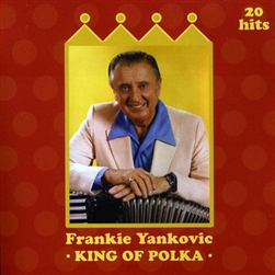 "Frankie Yankovic (July 15, 1915 Davis, West Virginia - October 14, 1998) was a grammy award winning polka musician. Known as ""America's Polka King,"" Yankovic was the premier artist to play in the Slovenian style during a long and successful career."