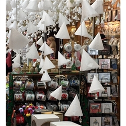 Have you ever been in our store during the Winter Holiday Season!!! We decorate with 'Winter Bells' and it is spectacular!!! We have had so many people ask how we made them, that we decided to make a kit. Included in the kit are all supplies needed to