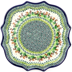 "Pattern designed By Teresa Liana. The artist has been connected with the Artistic Handicraft Cooperative ""Artistic Ceramics and Pottery"" since 1983. Since 1992 she has been a pattern designer. Unikat pattern number U4836."