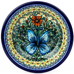 "Pattern designed and signed by Jolanta Okraska. The artist has been connected with the Artistic Handicraft Cooperative ""Artistic Ceramics and Pottery"" since 1983. Since 1985 she has been a pattern designer. Signature Series Pattern: U1491."