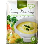 Adamba Creamy Potato Soup is delicious and easy to make. Instructions in English and Polish. Makes 2 cups of soup in approximately 3 minutes.
