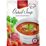 Adamba Oxtail Soup is delicious and easy to make. Instructions in English and Polish. Makes 4 cups of soup in approximately 3 minutes. No MSG/GMO added.