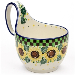 "Pattern Designed By Teresa Liana. The artist has been connected with the Artistic Handicraft Cooperative ""Artistic Ceramics and Pottery"" since 1983. Since 1992 she has been a pattern designer.Signature Unikat pattern number U4740."