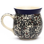 "Pattern designed by Maria Starzyk. The artist has been connected with the Artistic Handicraft Cooperative ""Artistic Ceramics and Pottery"" since 1997. Since 2003 she has been a pattern designer. Signature Unikat pattern number U4783."