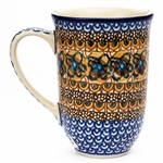 "Pattern designed by master artist Maria Iwicka. The artist has been connected with the Artistic Handicraft Cooperative ""Artistic Ceramics and Pottery"" since 1981. A pattern designer since 1993. Unikat pattern number U152."