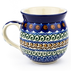 "Pattern Designed By Irena Maczka. The artist has been connected with the Artistic Handicraft Cooperative ""Artistic Ceramics and Pottery"" since 1990. Since 1997 she has been a pattern designer. Signature Series Pattern: U215."