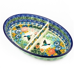 "Pattern Designed By Teresa Liana. The artist has been connected with the Artistic Handicraft Cooperative ""Artistic Ceramics and Pottery"" since 1983. Since 1992 she has been a pattern designer. Unikat pattern number U3727.
