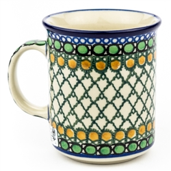 "Pattern Designed By Teresa Liana. The artist has been connected with the Artistic Handicraft Cooperative ""Artistic Ceramics and Pottery"" since 1983. Since 1992 she has been a pattern designer. Unikat pattern number U83."