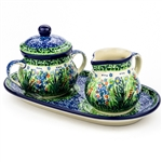 "Pattern designed by master artist. Krystyna Dacyszyn. The artist has been connected with the Artistic Handicraft Cooperative ""Artistic Ceramics and Pottery"" since 1990. A pattern designer since 2002. Signature Series Pattern: U4332."