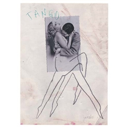 "Post Card: Tango, Polish Tourist Poster designed by artist Jacek Staniszewski (Jacx) in 2015 It has now been turned into a post card size 4.75"" x 6.75"" - 12cm x 17cm."