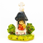 The Polish countryside is home to numerous wayside religious shrines.