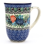 "Pattern Designed By Teresa Liana. The artist has been connected with the Artistic Handicraft Cooperative ""Artistic Ceramics and Pottery"" since 1983. Since 1992 she has been a pattern designer. Unikat pattern number U4672."