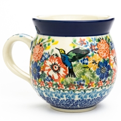 "Pattern Designed By Teresa Liana. The artist has been connected with the Artistic Handicraft Cooperative ""Artistic Ceramics and Pottery"" since 1983. Since 1992 she has been a pattern designer. Unikat pattern number U3356."