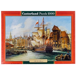 "1000 pieces Assembled Size: approx. 26.8"" x 18.5"" Box measures: approx 14"" x 10"" x 2"" Made in Poland by Castorland Not suitable for children 3 years old and younger."