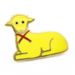 The butter lamb, the token of every Buffalo Easter table, is now available as a fabulous butter lamb pin. Shiny and pale gold like its real counterpart, this butter lamb pin adds flair to whatever you put it on with a bonus of 0 added calories. This eye-c