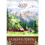 This beautiful large format spiral bound wall calendar features the works of Polish artist Katarzyna Tomala. 15 scenes from the Podhale region in watercolours.
