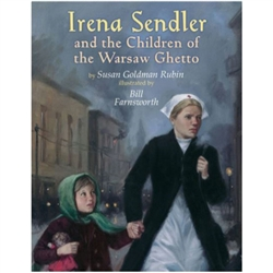 This children's book summarizes the compelling heroine story of Irena Sendler, a Polish Catholic who organized the rescue of more than 2,500 Jewish children from the Warsaw ghetto during World War II.