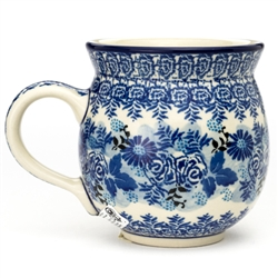 "Pattern Designed By Maria Starzyk. The artist has been connected with the Artistic Handicraft Cooperative ""Artistic Ceramics and Pottery"" since 1997. Since 2003 she has been a pattern designer. Signature Unikat pattern number U4645."