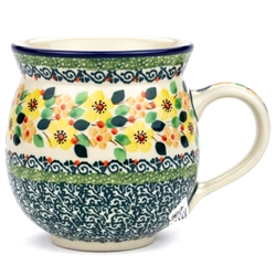 "Pattern Designed By Teresa Liana. The artist has been connected with the Artistic Handicraft Cooperative ""Artistic Ceramics and Pottery"" since 1983. Since 1992 she has been a pattern designer. Unikat pattern number U4726"