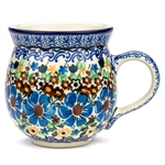 "Pattern designed by master artist Maria Starzyk . The artist has been connected with Handicraft Cooperative ""Artistic Ceramics and Pottery"" since 1995, whereas since 1997 she has been a pattern designer. Unikat pattern number U1948"