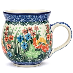 "Pattern Designed By Teresa Liana. The artist has been connected with the Artistic Handicraft Cooperative ""Artistic Ceramics and Pottery"" since 1983. Since 1992 she has been a pattern designer. Unikat pattern number U4677."