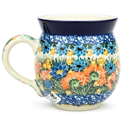 "Pattern designed by master artist Maria Starzyk . The artist has been connected with Handicraft Cooperative ""Artistic Ceramics and Pottery"" since 1995, whereas since 1997 she has been a pattern designer. Unikat pattern number U4711"