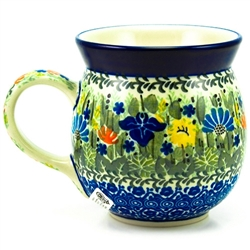 "Pattern Designed By Maria Starzyk The artist has been connected with the Artistic Handicraft Cooperative ""Artistic Ceramics and Pottery"" since 1995. Since 1997 she has been a pattern designer. Unikat pattern number U2202."