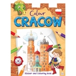 Sticker And Colouring Activity Book is a wonderful souvenir from Cracow for children. Great way to learn about their Polish heritage. Includes color stickers.