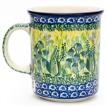 "Designed by master artist Agnieszka Damian. The artist has been connected with the Artistic Handicraft Cooperative ""Artistic Ceramics and Pottery"" since 1996. Since 2002 she has been a pattern designer. Unikat pattern U1483."