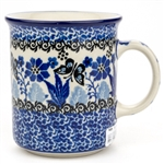 "Pattern Designed By Teresa Liana. The artist has been connected with the Artistic Handicraft Cooperative ""Artistic Ceramics and Pottery"" since 1983. Since 1992 she has been a pattern designer. Unikat pattern number U3376."
