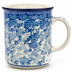 "Pattern Designed By Maria Starzyk. The artist has been connected with the Artistic Handicraft Cooperative ""Artistic Ceramics and Pottery"" since 1997. Since 2003 she has been a pattern designer. Signature Unikat pattern number U4163"