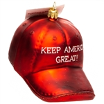 Supporters of President Trump will love this ornament. Size approx 3' x 3' x 4'., Made in Poland.