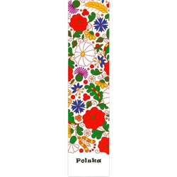 This is a beautiful Kociewie floral pattern printed on a bookmark.  This bookmark was born of a genuine love of Polish folklore. Stylized floral composition inspired by Kociewie embroideries