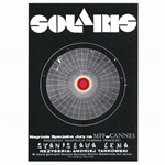 "Solaris, Polish Film Poster by Andrzej Bertrandt designed in 1972 It has now been turned into a post card size 4.75"" x 6.75"" - 12cm x 17cm.