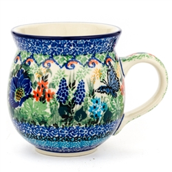 "Pattern Designed By Teresa Liana. The artist has been connected with the Artistic Handicraft Cooperative ""Artistic Ceramics and Pottery"" since 1983. Since 1992 she has been a pattern designer."