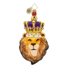 Loyal, brave, and full of pride. No challengers have managed to end this king's rule, though many have tried!  Height (in):  5.5Length (in):  4Width (in):  2.5