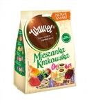 This Polish specialty is just that - special. Jelly in chocolate Mix Krakowska New flavors are refreshing and full of fruit flavored jellies embedded in exquisite dessert chocolate from Wawel. They owe their intense flavor and aroma to good fruit aromas