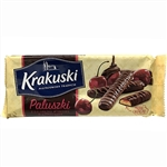 Named after the city of Krakow these are a delicious tea biscuit topped with a cherry filling and covered in chocolate.